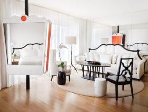 mondrian hotel room