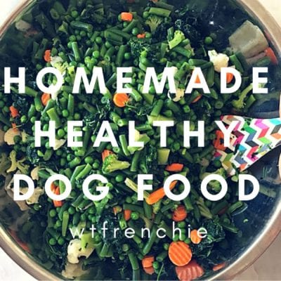 DIY: Healthy Homemade Dog Food Using Frozen Veggies