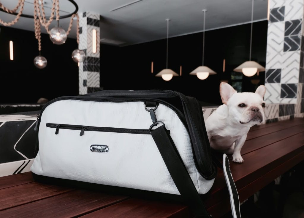 Review Sleepypod Air In Cabin Dog Carrier Bag Where S The Frenchie