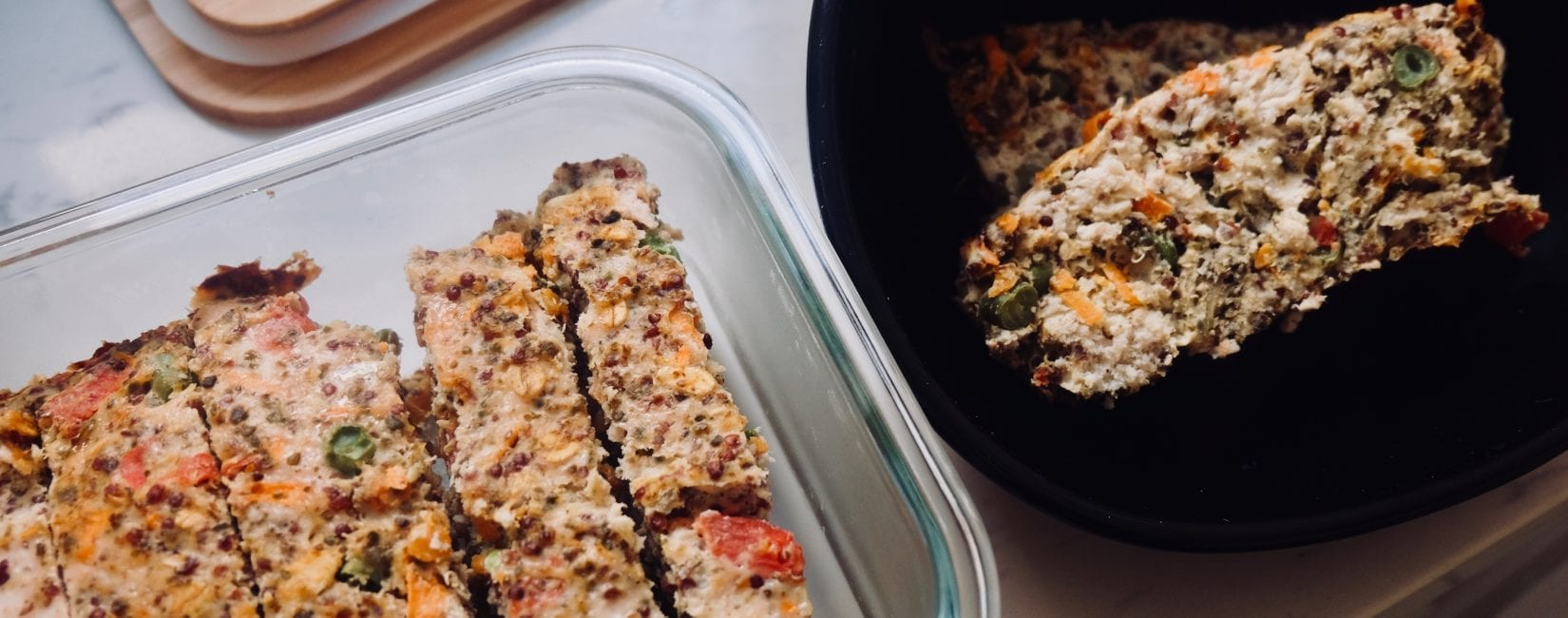 Recipe: Turkey Veggie Meatloaf for Dogs