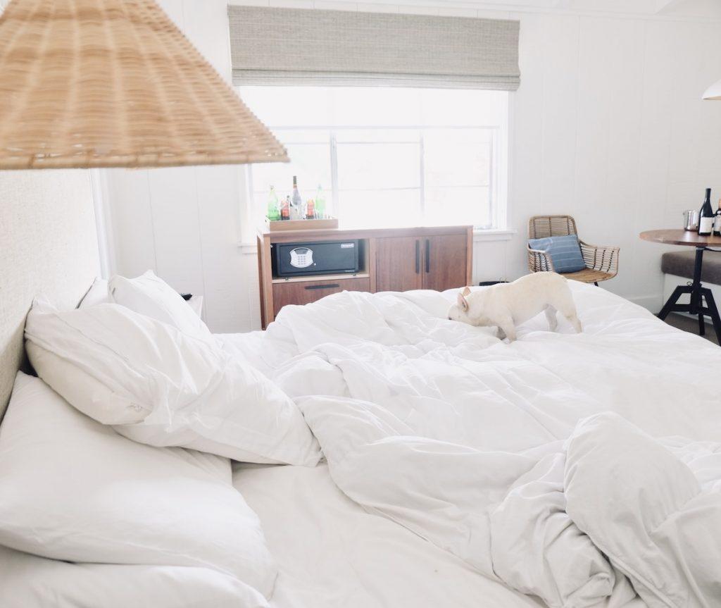 the getaway hotel room